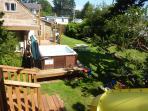 Hot Tub/Deck/Yard Space