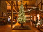 Enter into the winter wonderland at The Grand River Lodge