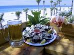 Walk to the best waterfront restaurants