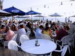 A table awaites you at The Beach House Restaurant