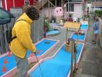 Miniature Golf in nearby Rockaway