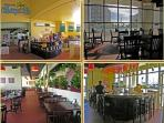 Cabana Cafe Restuarant in our lobby. Breakfast, lunch and dinner with delivery