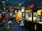 Enjoy a night out with the kids at Fat Daddy's Arcade and Pizza