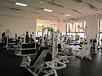 Modern Gym One Block Away