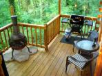 Country Charm Back Deck