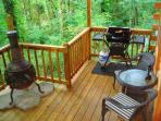 Nature's Nook Back Deck