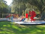Children love the onsite playground