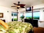 Master Bedroom has amazing views