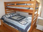 Bedroom 3 (2 sets bunk beds - this set twin over full)