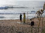 Walk to the best surfing spots on the east coas!