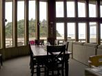 Dining for 8 with amazing views