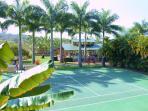 Plantation Pavilion and tennis court