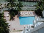 Pool from 11th. floor Lanai