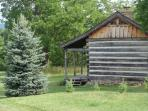 100 Year Old Log Cabin