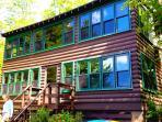 Classic Adirondack Lakefront Cabin on Quiet Lake