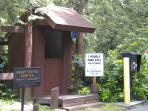 Entrance to Hartstene Pointe