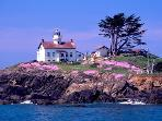 Battery Point Light House in Crescent City