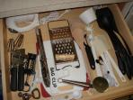 All Utensils, Silverware, Cups, Plates included