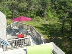 Looking from Balcony to  Deck