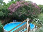 18\\\' wide salt water pool!  Shared with owners - but thats it!