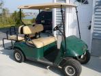 Golf Cart Take a Ride to Pool