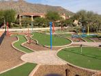 Got Golf? This home features a private 9 hole mini golf course!!