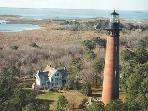 Visit the Famous Corolla Lighthouse in Corolla
