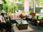 Relaxing Screened Porch for All Day Long!!