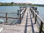 Private fishing , dolphin viewing dock