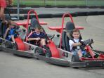 Go cart racing nearby at Longs Retreat