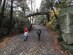 Minnewaska State park at 10 Minutes drive