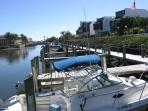 Free boat dock usage for tenants and owners.