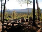 Autumn al fresco dining with the best view in all of Maine