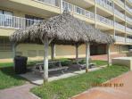 2 Tiki Huts for your enjoyment
