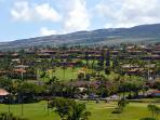 mountain and golf course views from side lanai