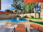 Kierland Home- Backyard with Gazebo & heated pool
