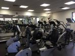 Fitness Center at the clubhouse
