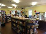 Corner store and movie rentals