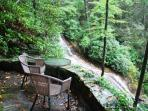Enjoy the beautiful outdoors at Wonderfall in Highlands, NC.
