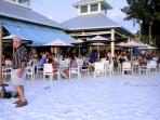 Dine Right On The Beach Just A Few Minutes From The Beach Sands Condo