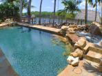 Heated Pool and Spa with view of waterfront , and protected Florida Mangroves.