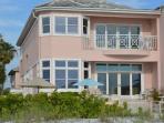 View of the Belleair Beach House from the beach