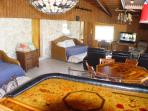 Man Cave 4 twin beds