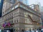 Enjoy evening at Carnegie Hall close by