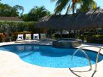 Relax by the heated pool & enjoy the South Florida weather!