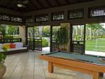 Pool table, BBQ area, large grass playing area for sole use of property guests.