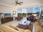 Enjoy the Gulf Breeze while relaxing in your comfortable family room.  HD TV w/high speed internet