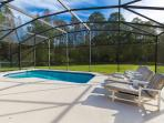Enjoy the private pool and deck - chill out and enjoy the Florida sun, and nature conservation views