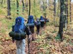Enjoy a day hike or overnight backpacking excursions.