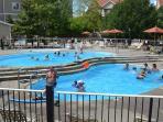 Wonderful pool onsite.